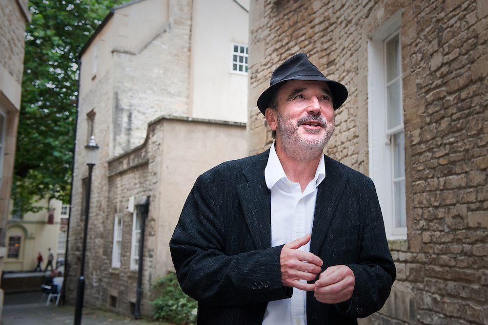 Barry Cunningham, JK Rowling's first publisher and editor at Bloomsbury Press, photographed in the English Spa town of Bath in Somerset, UK.
