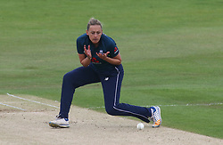 June 15, 2018 - London, United Kingdom - Laura Marsh of England Women.during Women's One Day International Series match between England Women against South Africa Women at The Spitfire Ground, St Lawrence, Canterbury, on 15 June 2018  (Credit Image: © Kieran Galvin/NurPhoto via ZUMA Press)