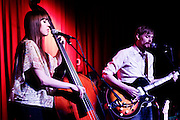 Ohio indie duo Shivering Timbers live at Off Broadway in Saint Louis on March 6th, 2013.