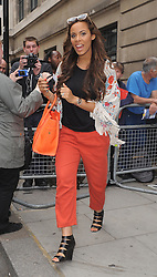 Rochelle Wiseman from The Saturdays leaving BBC Radio 2 in central London, UK. 27/06/2013<br />BYLINE MUST READ : GOTCHAIMAGES.COM<br /><br />Copyright by © Gotcha Images Ltd. All rights reserved.<br />Usage of this image is conditional upon the acceptance <br />of Gotcha Images Ltd, terms and conditions available at<br />www.gotchaimages.com