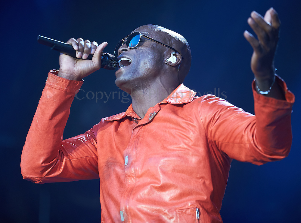 OXFORDSHIRE, UK - JULY 10: Seal performs on stage at The Cornbury Music Festival on July 10th, 2016 in Oxfordshire, United Kingdom. (Photo by Philip Ryalls)**Seal