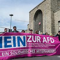 30 Proteste gegen den AfD Parteitag
