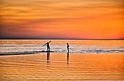 Boogie boarding, Skaket Beach, Orleans, Cape Cod, Massachusetts, USA