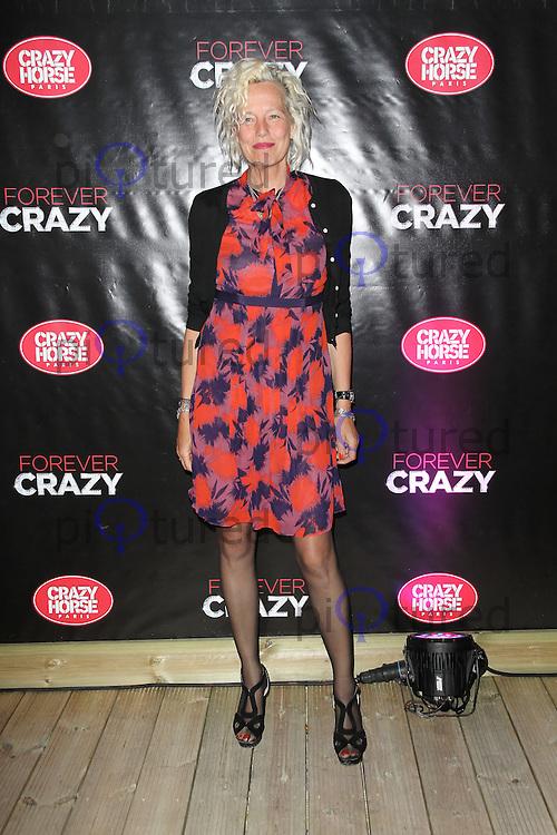 LONDON - SEPTEMBER 19: Ellen von Unwerth attended the premiere of 'Crazy Horse Presents Forever Crazy' at The Crazy Horse, London, UK. September 19, 2012. (Photo by Richard Goldschmidt)