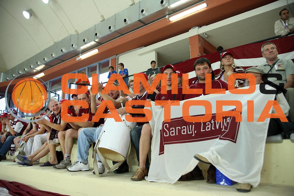 DESCRIZIONE : Vasto Italy Italia Eurobasket Women 2007 Turchia Lettonia  Turkey Latvia<br /> <br /> GIOCATORE :<br /> <br /> SQUADRA : Lettonia  Latvia<br /> <br /> EVENTO : Vasto Euro Basket Women 2007<br /> <br /> GARA : Turchia Lettonia  Turkey Latvia<br /> <br /> DATA : 24-09-2007<br /> <br /> CATEGORIA:<br /> <br /> SPORT : Pallacanestro <br /> <br /> AUTORE : Agenzia Ciamillo-Castoria/G.Landonio <br /> <br /> Galleria : Fip Nazionali 2007 <br /> <br /> Fotonotizia : Vasto Euro Basket Women 2007<br /> <br /> Turchia Lettonia  Turkey Latvia<br /> <br /> Predefinita :