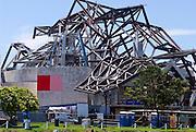 Vista de la fachada principal del  BioMuseo desde la Bahía de Panamá..Foto: Ramon Lepage / IstmophotoVista de la fachada posterior del  BioMuseo desde la entrada del Canal de Panamá..Foto: Ramon Lepage / Istmophoto