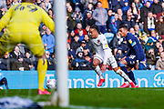 Leeds United forward Helder Costa (17) in action during the EFL Sky Bet Championship match between Leeds United and Huddersfield Town at Elland Road, Leeds, England on 7 March 2020.