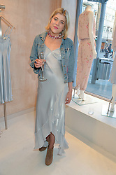 HANNAH SCOTT at a party to celebrate the re-launch of the Ghost Flagship store at 120 King's Road, London on 15th April 2015.