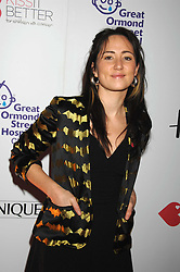 Singer K T TUNSTALL at a reception to launch the Kiss It Better Appeal in aid of the Great Ormond Street Hosoital supported by Clinique - held at Harrods, Knightsbridge, London on 30th January 2008.<br />