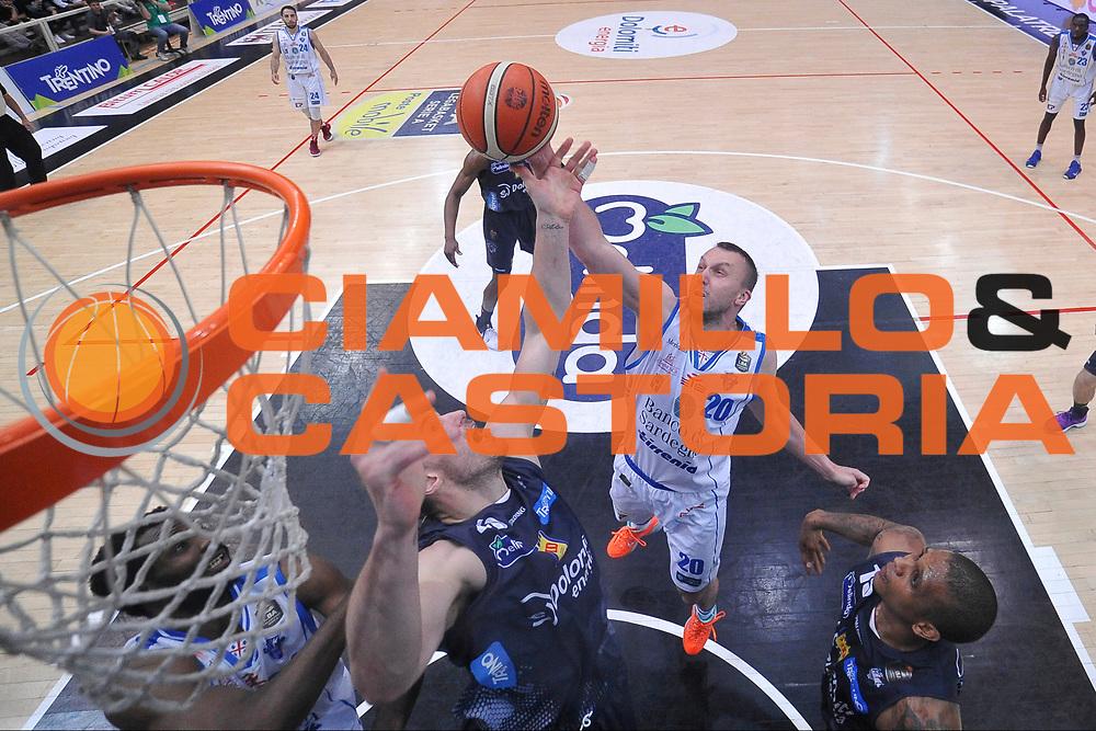 Savanovic Dusko <br /> Quarti di Finale Gara 2<br /> Legabasket A 2016,2017<br /> Trento 14/05/2017<br /> Foto Ciamillo-Castoria/ GiulioCiamillo