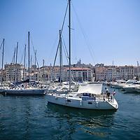 Vieux-Port de Marseille (France)<br /> Porto Antico di Marsiglia (Francia)