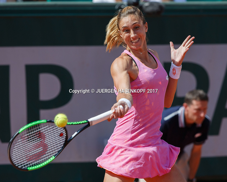 PETRA MARTIC (CRO)<br /> <br /> Tennis - French Open 2017 - Grand Slam / ATP / WTA / ITF -  Roland Garros - Paris -  - France  - 5 June 2017.