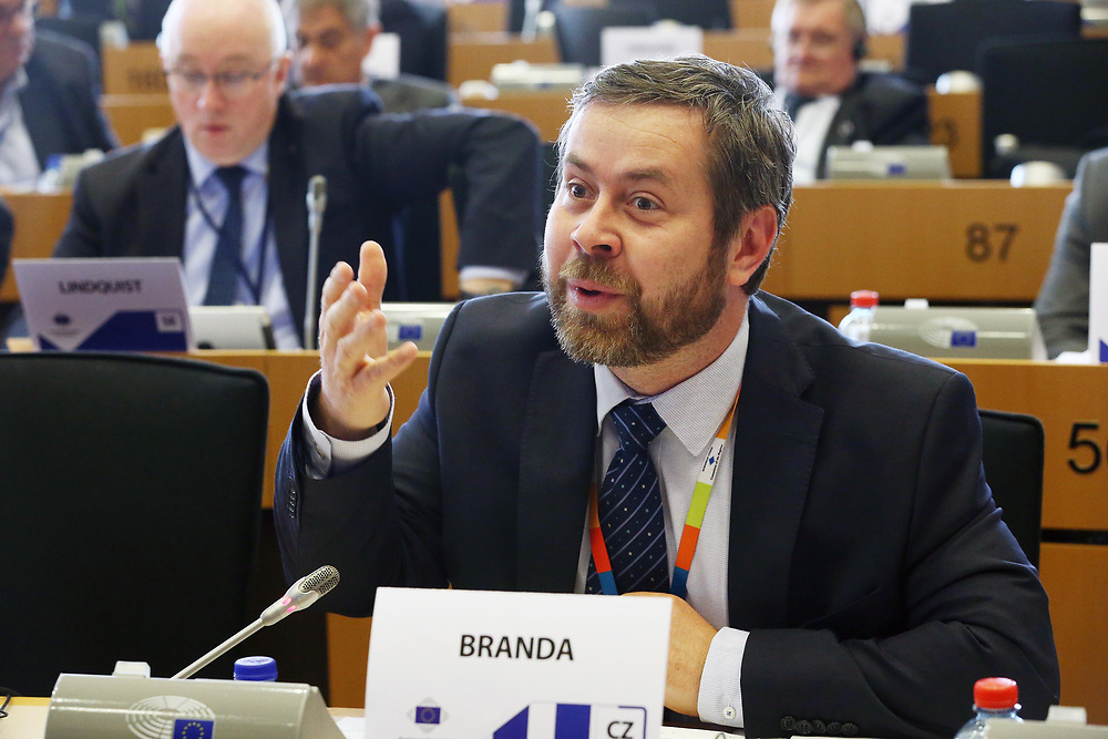 12 May 2017, 123rd Plenary Session of the European Committee of the Regions <br /> Belgium - Brussels - May 2017 <br /> <br /> Mr BRANDA Pavel, Vice-Mayor of R&aacute;dlo municipality, Czech Republic<br /> <br /> &copy; European Union / Patrick Mascart