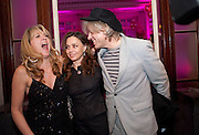 SONIA FRIEDMAN; JEANE-MARINE; SIR BOB GELDOF, Savoy Theatre's Legally Blonde- The Musical,  Gala night. After-party at the Waldorf Hilton. London. 13 January 2010.