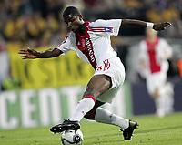Fotball<br /> UEFA Cup<br /> 14.09.2006<br /> Åråsen Stadion<br /> Start v Ajax Amsterdam<br /> Foto: Morten Olsen, Digitalsport<br /> <br /> Ryan Babel - Ajax