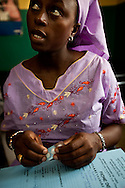 Senegal, May 2009. Woman recieved Malaria treatment (SEE LINDSEY FOR NAMES)