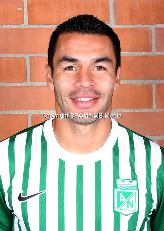 Colombia League - Postobom Liga 2014-2015 -<br /> Club Atletico Nacional Medellin - Colombia / <br /> Francisco Najera