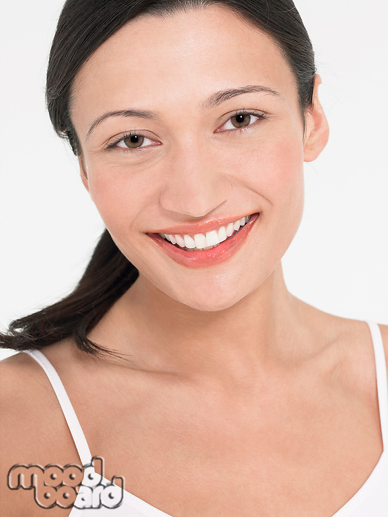 Young Woman Smiling portrait