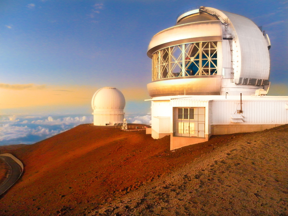 Mauna Kea, is a dormant volcano on the island of Hawaii. Standing 4,207 m above sea level, its peak is the highest point in the state of Hawaii.