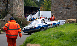 Boness Revival hillclimb motorsport event in Boness, Scotland, UK. The 2019 Bo'ness Revival Classic and Hillclimb, Scotland's first purpose-built motorsport venue, it marked 60 years since double Formula 1 World Champion Jim Clark competed here.  It took place Saturday 31 August and Sunday 1 September 2019. 733. Mike Stewart. Vauxhall Magnum