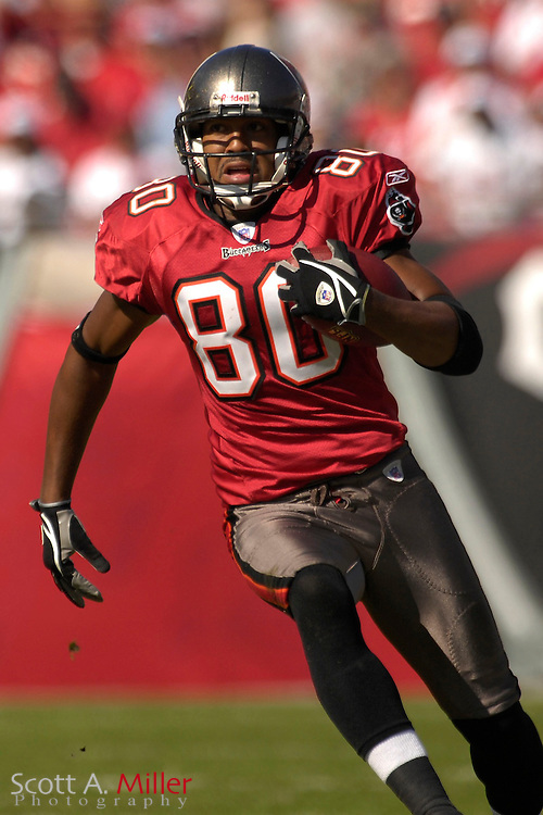 Nov. 19, 2006; Tampa, FL, USA;  Tampa Bay Buccaneers receiver (80) Michael Clayton in action against the Washington Redskins at Raymond James Stadium. ...©2006 Scott A. Miller