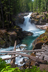 Silver Falls, Mt. Rainier National Park, Washington, US