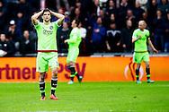 20-03-2016 VOETBAL:PSV-AJAX:EINDHOVEN<br /> Joël Veltman van Ajax teleurgesteld na een enorme kans voor Ajax<br /> <br /> Foto: Geert van Erven