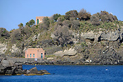 Seascape of Cyclopean Isles, Aci Trezza, Aci Castello, Province of Catania, Sicily, Italy