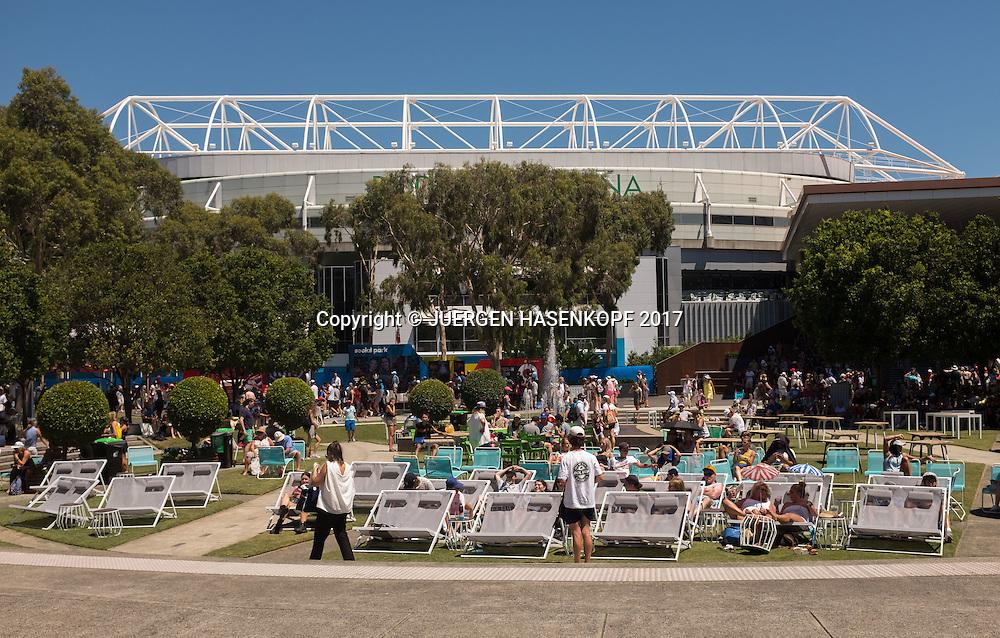 Feature<br /> <br /> Australian Open 2017 -  Melbourne  Park - Melbourne - Victoria - Australia  - 16/01/2017.