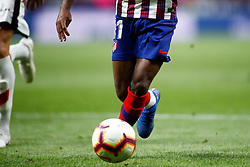 August 25, 2018 - Lemar of Atletico de Madrid during the spanish league, La Liga, football match between Atletico de Madrid and Rayo Vallecano on August 25, 2018 at Wanda Metropolitano stadium in Madrid, Spain. (Credit Image: © AFP7 via ZUMA Wire)
