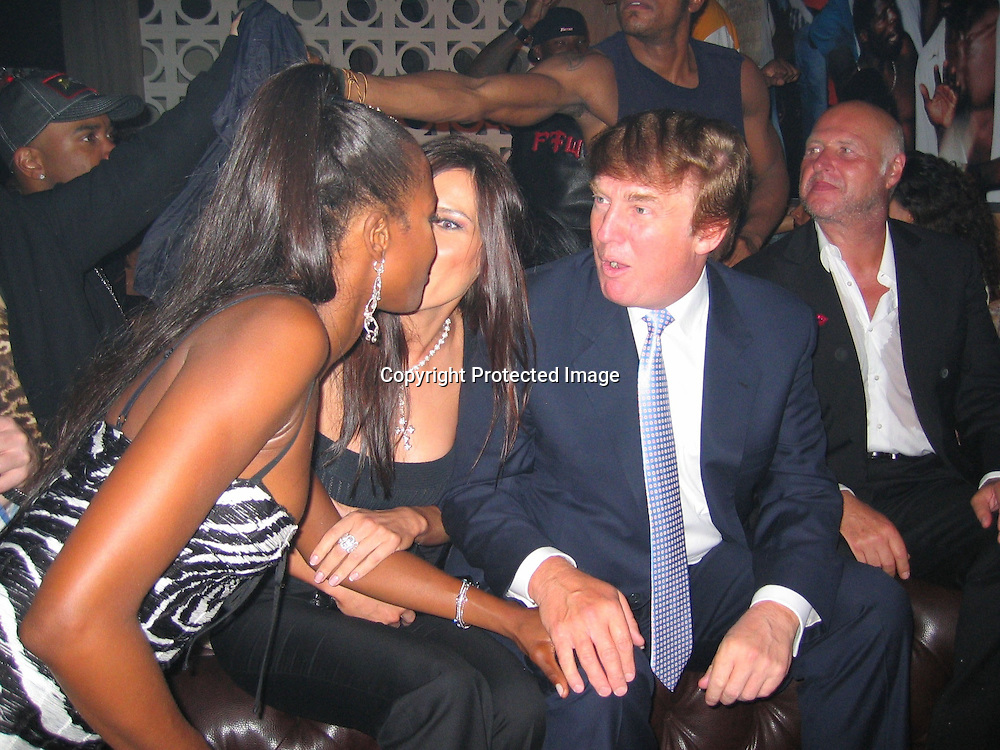 Naomi Campbell, Melania Knauss &amp; Donald Trump <br />