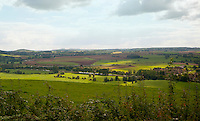 Pastoral landscape of the area around Besancon, France.