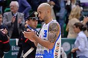DESCRIZIONE : Beko Legabasket Serie A 2015- 2016 Dinamo Banco di Sardegna Sassari - Enel Brindisi<br /> GIOCATORE : David Logan<br /> CATEGORIA : Ritratto Delusione Postgame<br /> SQUADRA : Dinamo Banco di Sardegna Sassari<br /> EVENTO : Beko Legabasket Serie A 2015-2016<br /> GARA : Dinamo Banco di Sardegna Sassari - Enel Brindisi<br /> DATA : 18/10/2015<br /> SPORT : Pallacanestro <br /> AUTORE : Agenzia Ciamillo-Castoria/L.Canu