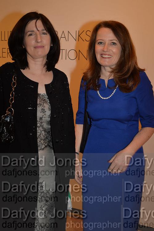 KATHLEEN GARRETT; RACHEL HUSSEY, The Arthur Cox Irish Fashion Showcase 2015,  Irish based designers chosen to be part of this year's Arthur Cox Irish Fashion Showcases The Mall Galleries, London. 13 May 2015.