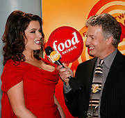 Nigella Lawson (left), is interviewed by Marc Summers before the First Food Network Awards Show at the Jackie Gleason Theater  of the Performing Arts, in Miami Beach, FL on  Feb 23, 2007.  (Photo/Lance Cheung) <br /> <br /> PHOTO COPYRIGHT 2007 LANCE CHEUNG<br /> This photograph is NOT within the public domain.<br /> This photograph is not to be downloaded, stored, manipulated, printed or distributed with out the written permission from the photographer. <br /> This photograph is protected under domestic and international laws.