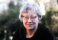 Monica Patterson, Belfast, N Ireland, chairman of reconciliation organisation, Women Together, April, 1972, 197204060178C<br /> ,<br /> Copyright Image from Victor Patterson, 54 Dorchester Park, Belfast, UK, BT9 6RJ<br /> <br /> t1: +44 28 9066 1296<br /> t2: +44 28 9002 2446<br /> m: +44 7802 353836<br /> <br /> e1: victorpatterson@me.com<br /> e2: victorpatterson@gmail.com<br /> <br /> www.victorpatterson.com<br /> <br /> IMPORTANT: Please see my Terms and Conditions of Use at www.victorpatterson.com