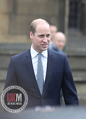 Prince William In Manchester