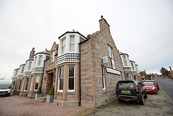 The Kilmarnock Arms Hotel, where Bram Stoker stayed while writing Dracula, on Bridge St, Cruden Bay, Aberdeenshire.