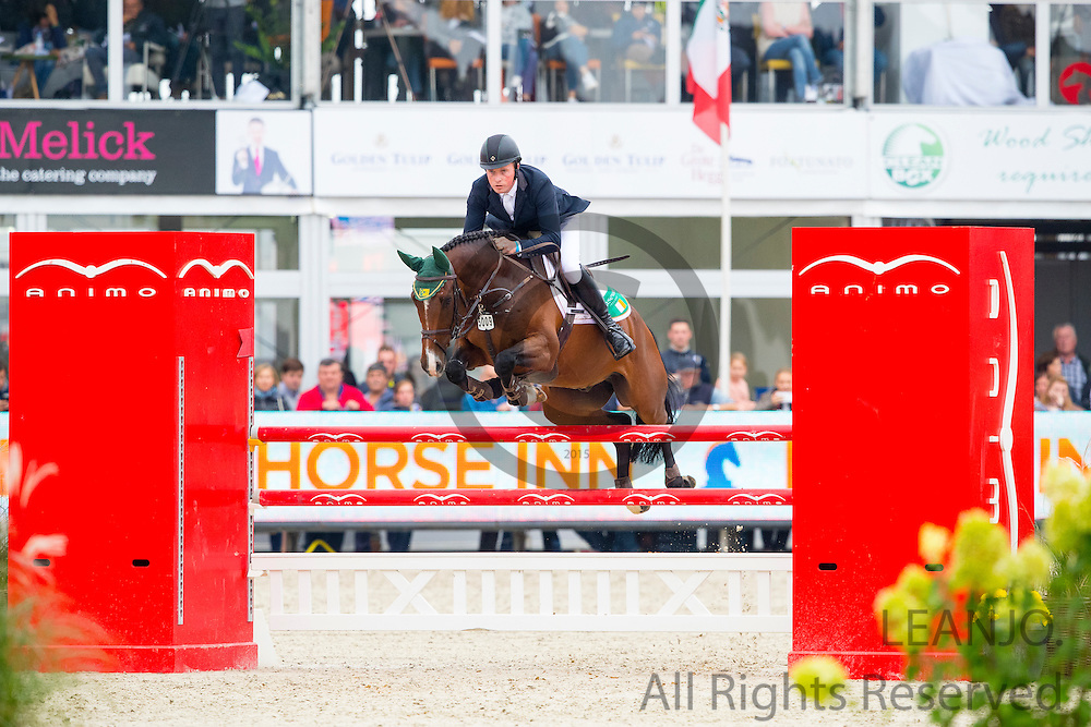 Gerard O'Neill - Killossery Kaiden<br /> FEI World Breeding Jumping Championships for Young Horses 2016<br /> © DigiShots