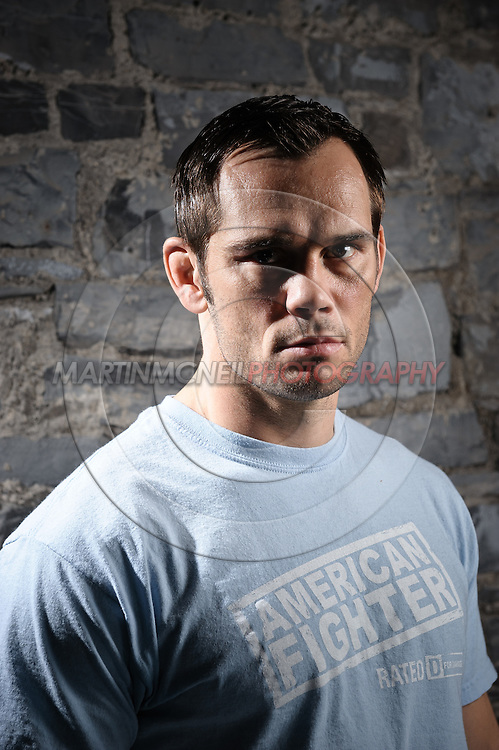 "A portrait of mixed martial arts athlete Rich ""Ace"" Franklin"