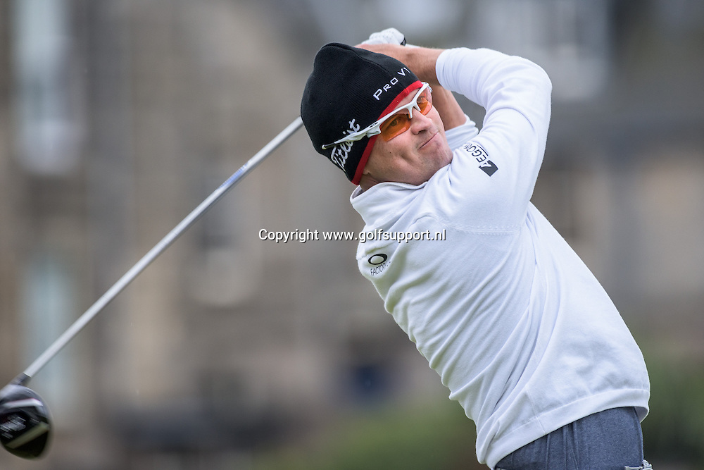16-07-15 European Tour 2015, 144th OPEN CHAMPIONSHIP, Old Course, St. Andrews, Fife, Scotland, UK. 16 - 19 Jul.  Zach  Johnson of United States during the first round.