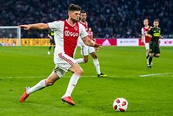14-08-2018 NED: Champions League AFC Ajax - Standard de Liege, Amsterdam<br /> Third Qualifying Round,  3-0 victory Ajax during the UEFA Champions League match between Ajax v Standard Luik at the Johan Cruijff Arena / Klaas Jan Huntelaar #9 of Ajax