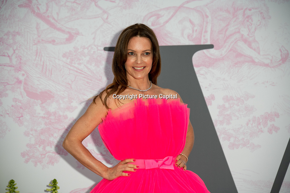 Kimberleigh Gelber arrives at V&A - summer party, on 19 June 2019, London, UK