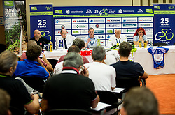 Technical meeting during 25th Tour de Slovenie 2018 cycling race, on June 12, 2018 in Hotel Livada, Moravske Toplice, Slovenia. Photo by Vid Ponikvar / Sportida