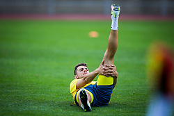 Antonio Mance of NK Domzale during practice session before football match between NK Domzale and FC Lusitanos Andorra in second leg of UEFA Europa league qualifications on July 6, 2016 in Andorra la Vella, Andorra. Photo by Ziga Zupan / Sportida