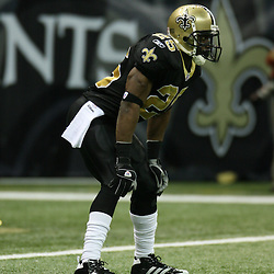 2007 December, 2: New Orleans Saints running back Reggie Bush (25) lines up for a play during a 27-23 win by the Tampa Bay Buccaneers over the New Orleans Saints at the Louisiana Superdome in New Orleans, LA.