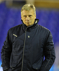 Bristol Rovers Manager, John Ward - Photo mandatory by-line: Joe Meredith/JMP - Tel: Mobile: 07966 386802 14/01/2014 - SPORT - FOOTBALL - St Andrew's Stadium - Birmingham - Birmingham City v Bristol Rovers - FA Cup - Third Round