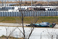 February 19, 2019 - Montmelo, BARCELONA, Spain - Lewis Hamilton (Mercedes AMG Petronas Motosport) seen in action during the winter test days at the Circuit de Catalunya in Montmelo (Catalonia), Tuesday, February 19, 2019. (Credit Image: © AFP7 via ZUMA Wire)