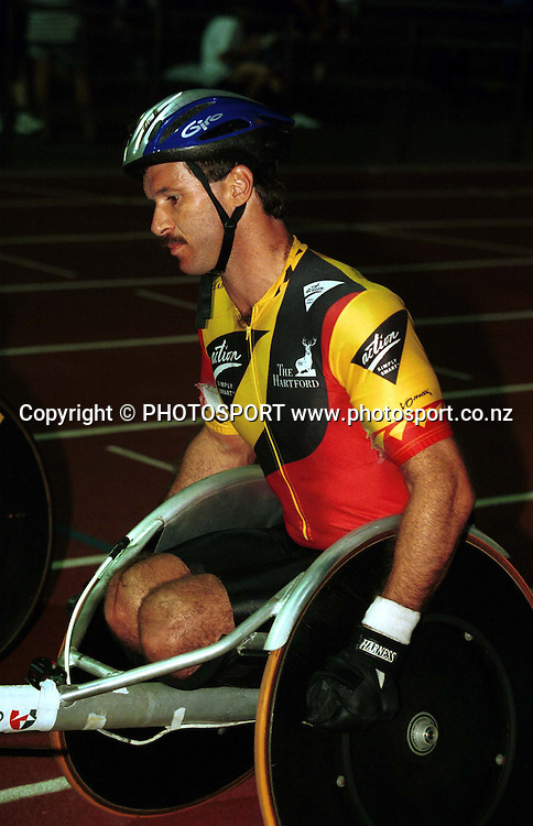 Ben Lucas, Wheelchair Champs, Marathon, Track and Field, Disabled sports. New Zealand. PHOTOSPORT