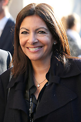 Anne Hidalgo bei der Chanel Modenschau während der Paris Fashion Week / 041016<br /> <br /> ***Chanel fashion show as part of Paris Fashion Week on october 04, 2016 in Paris***